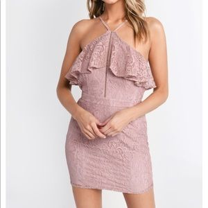 💕 Tobi Clara rose lace bodycon dress 💕